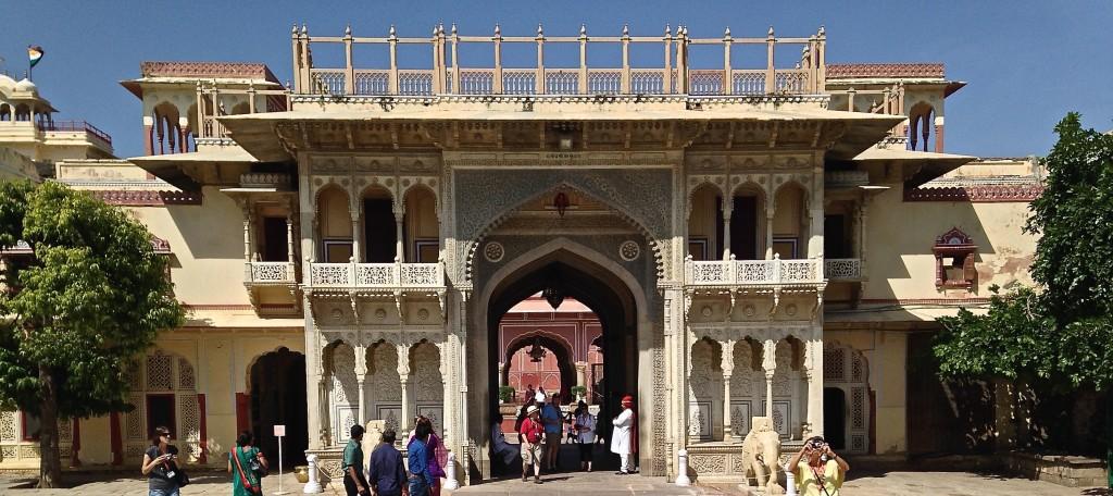 Entering Royal Palace