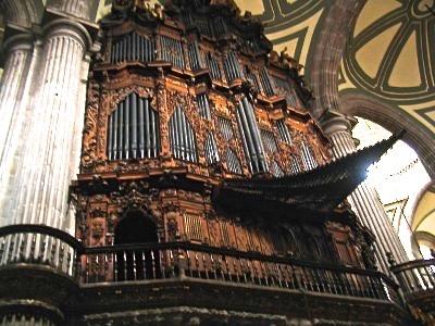 Metropolitan Cathedral Organ - Mexico City