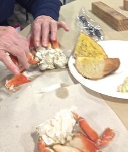Smashing crab