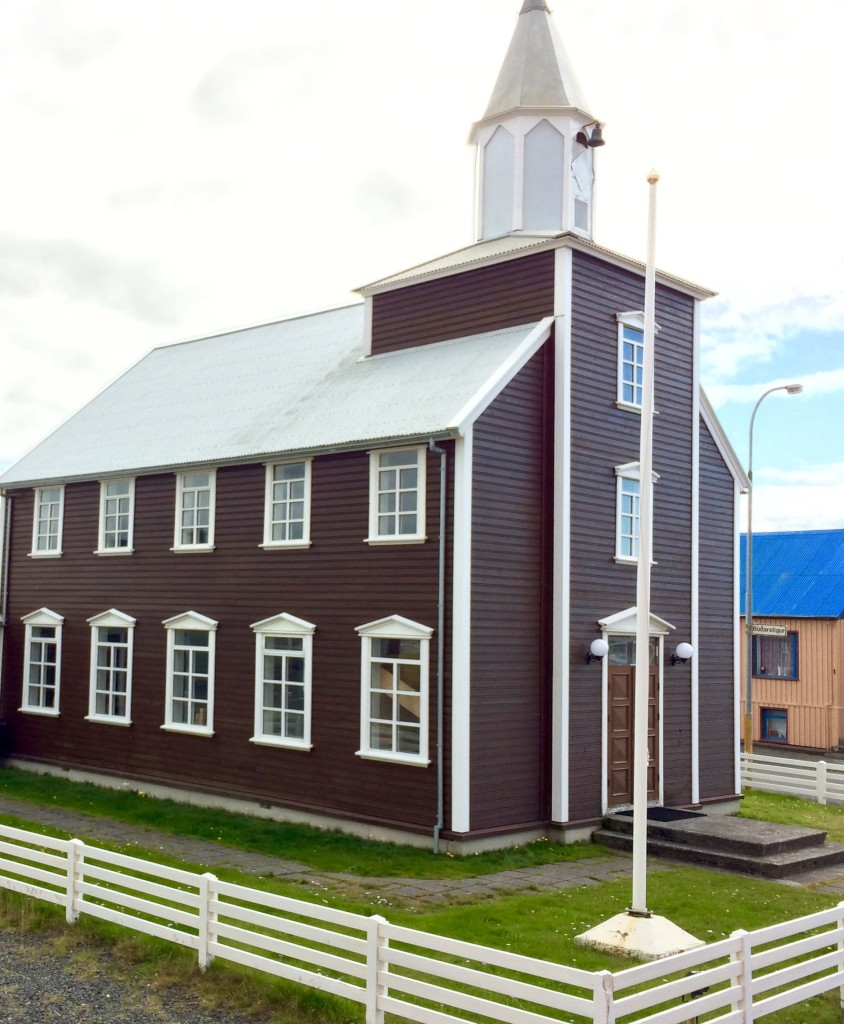 Church at Eyrarbakki