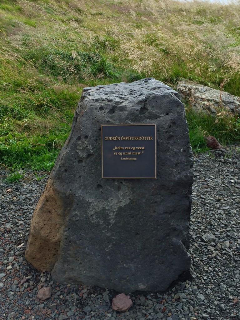 Gudrun's stone marker