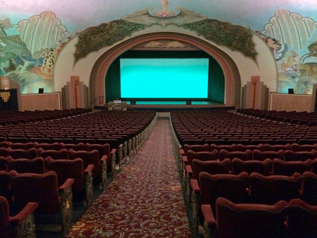Casino as movie theatre