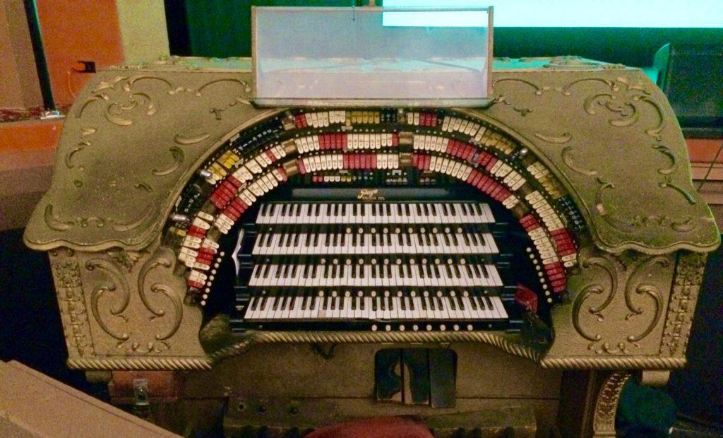 Casino theatre organ