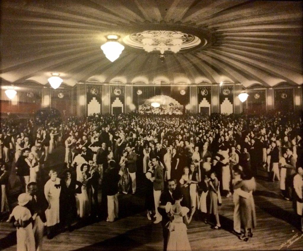Dancing in the Casino ballroom