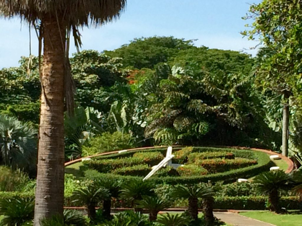 Botanical Gardens clock