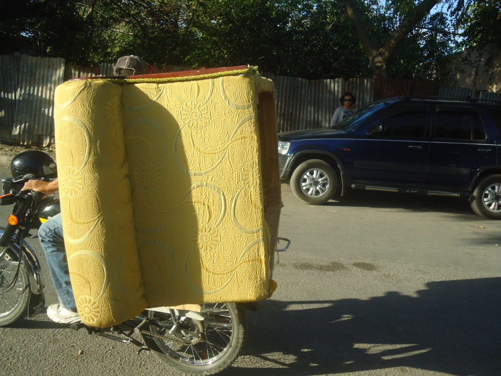 Moving a love seat
