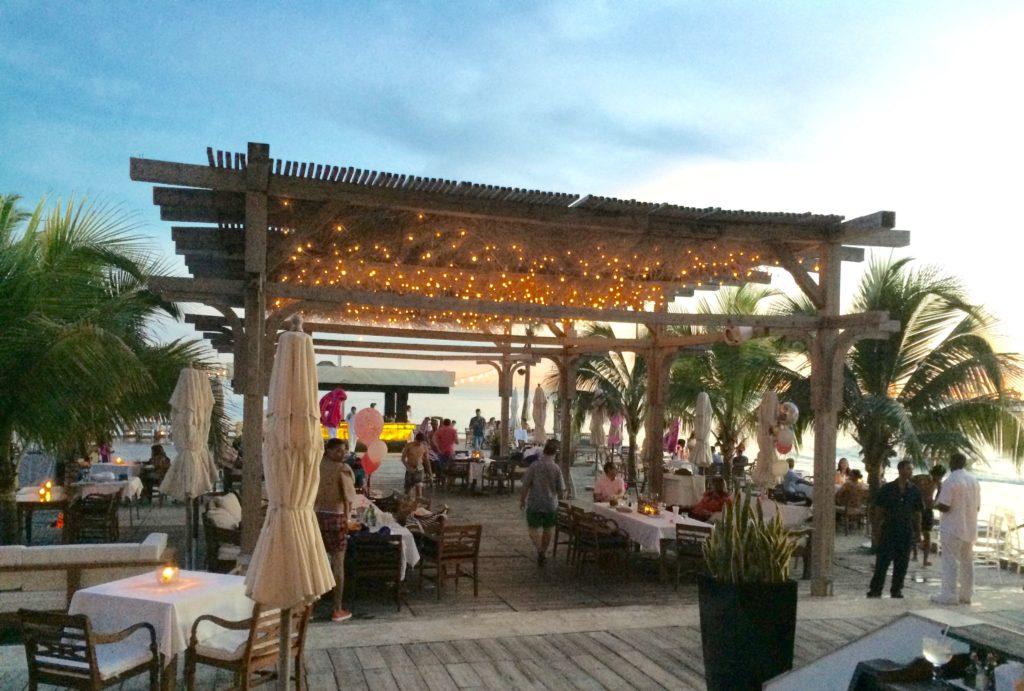 Dining on the pier at Boca Marina Restaurant
