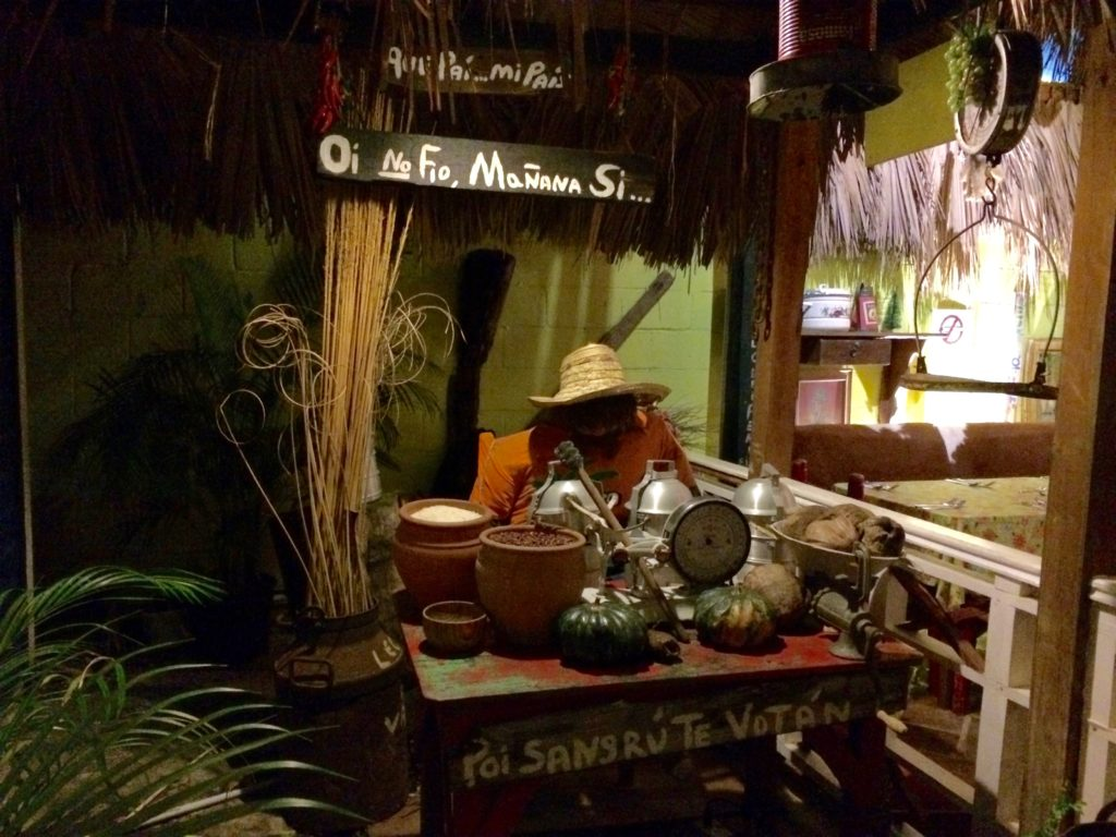 Entry to El Conuco Restaurant