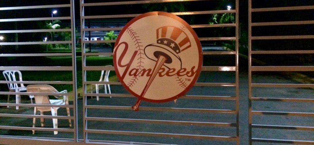 NY Yankees academy gate