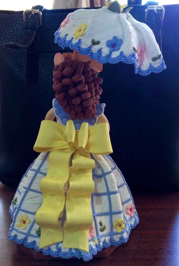 Parasol doll - rear