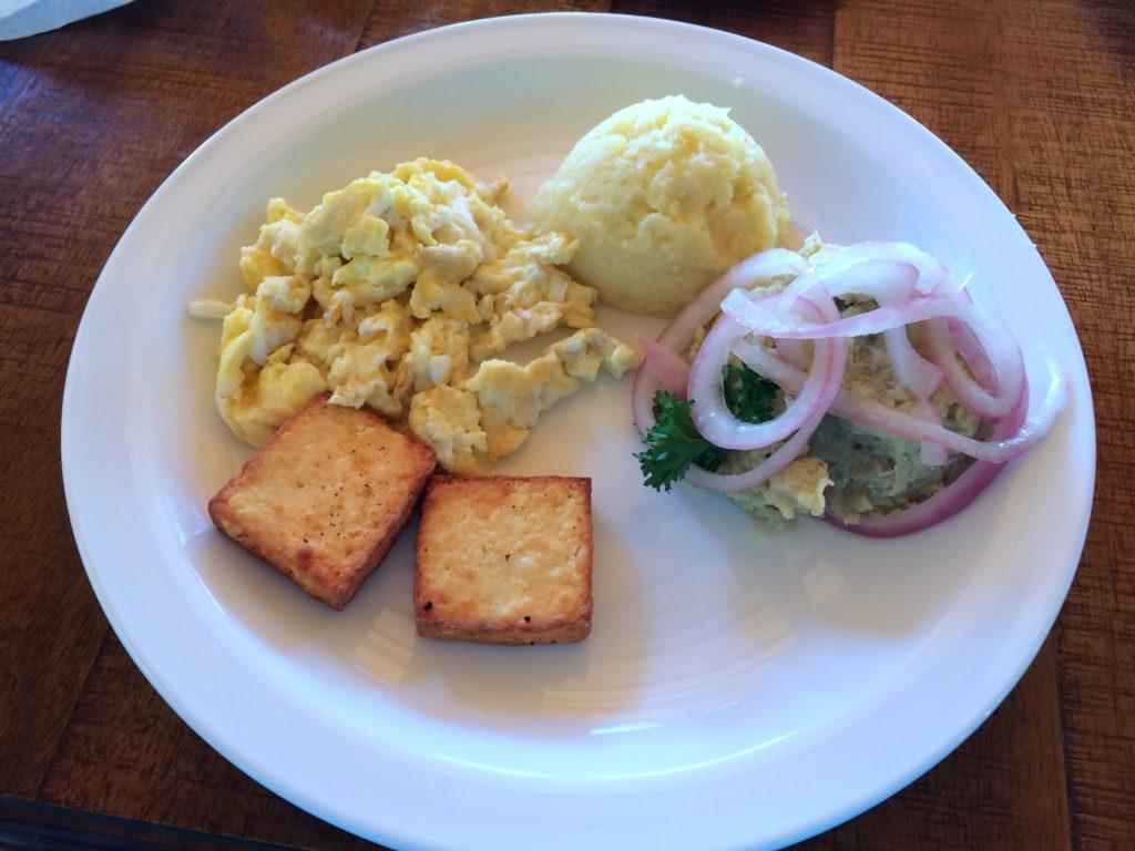 Breakfast at Altocerras Villas