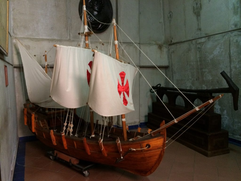 Model of Columbus' Ship