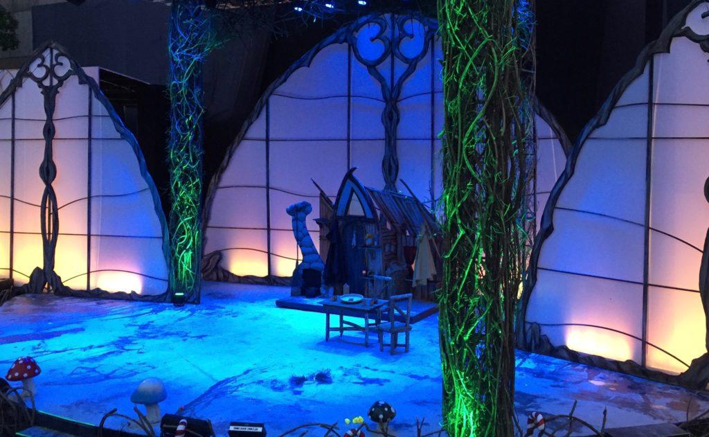 Hansel & Gretel's forest home