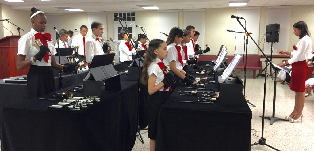 Nuria Martinez' Bell Choir