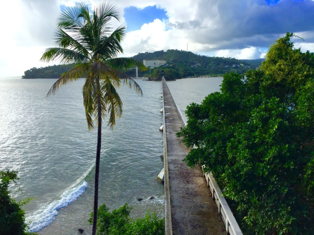 Bridge to Nowhere - Samana Bay