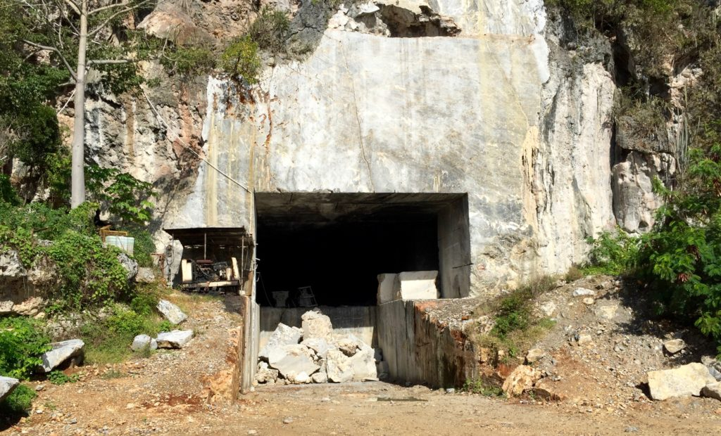 Mouth of the mine