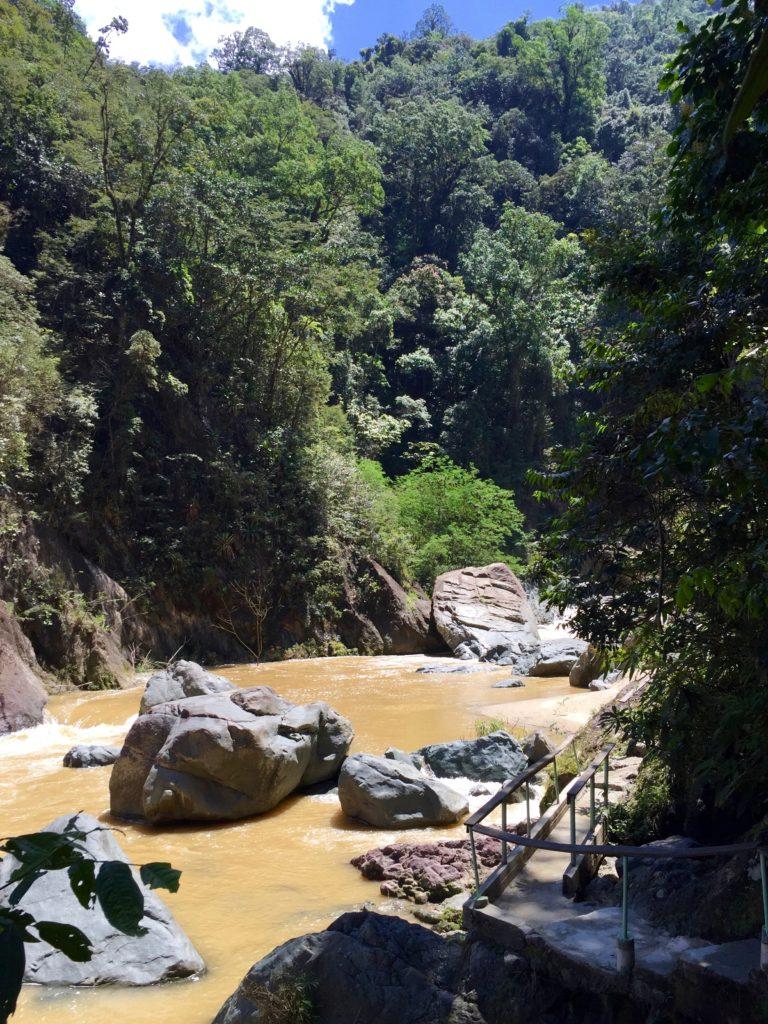 Closer to Salto de Jimenoa