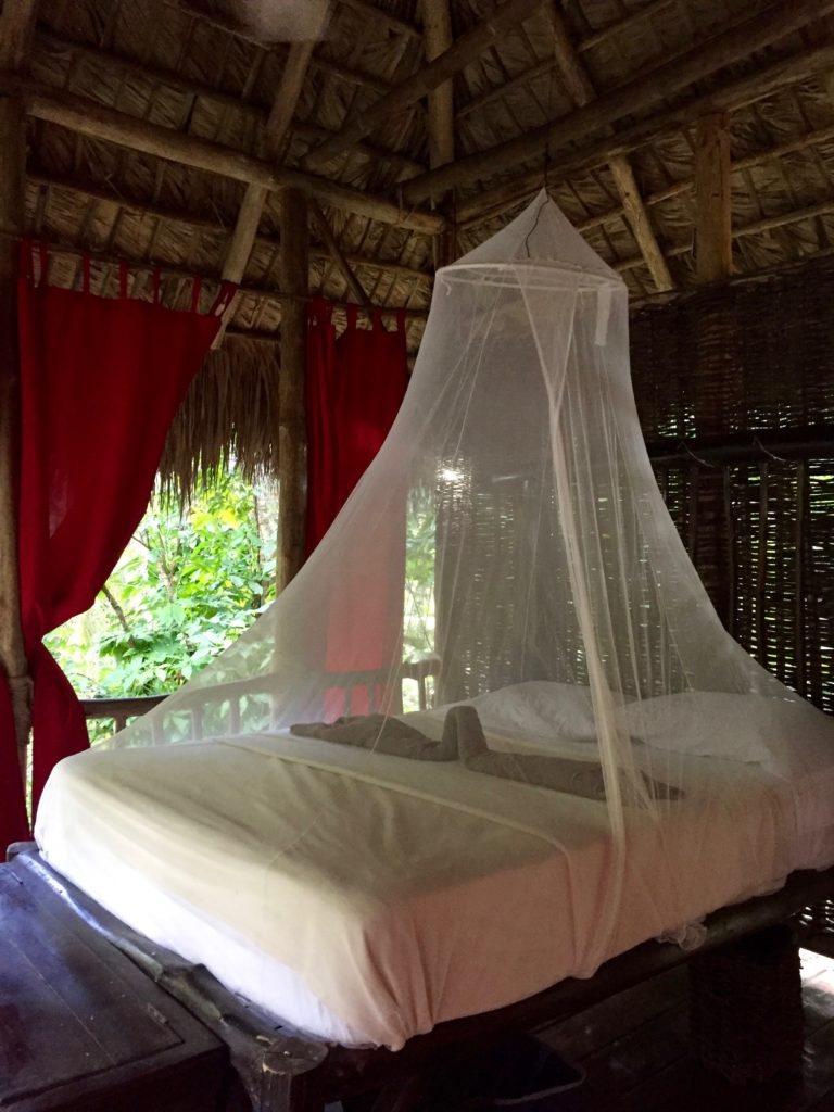 Dominican Tree House Village bedroom