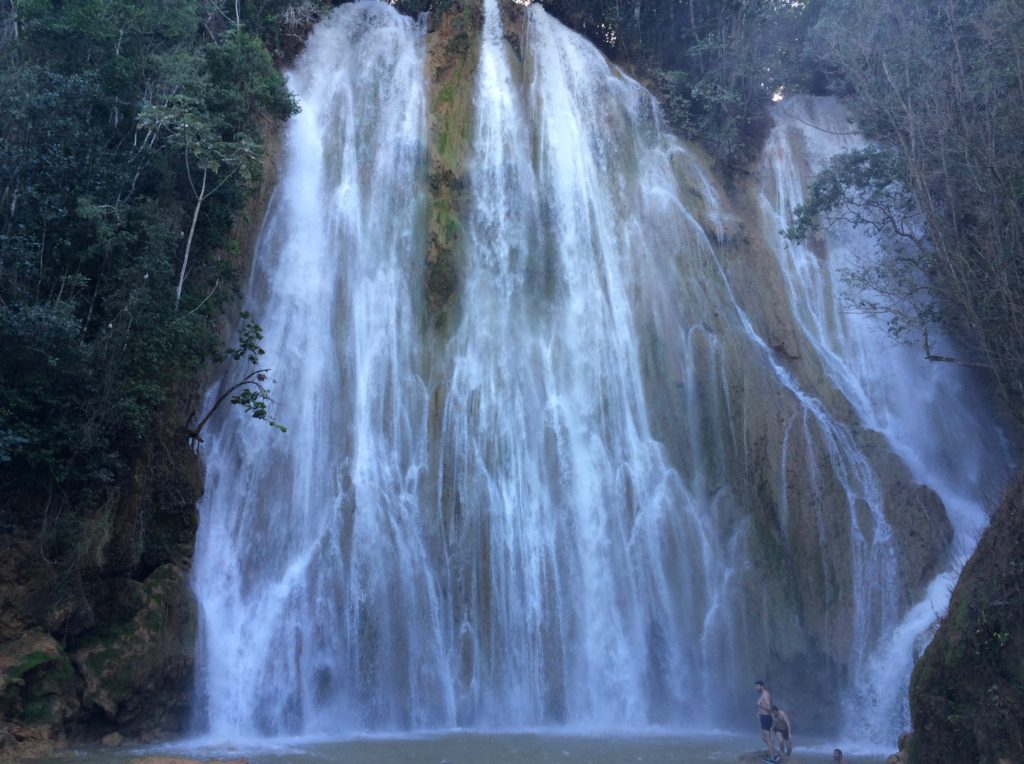 El Salto del Limon at high-water