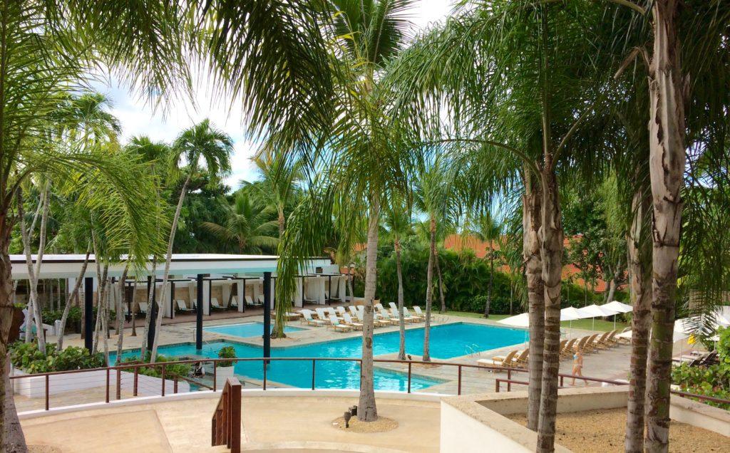 Hotel pool in Casa de Campo