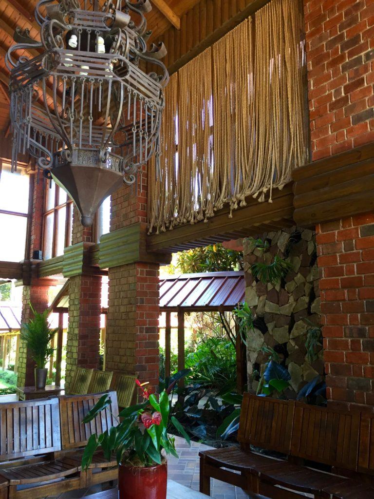 Lobby Hotel Gran Jimenoa