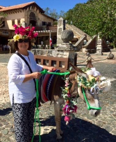 Margarita Donkey & friend