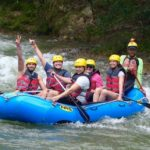 Rafting close-up