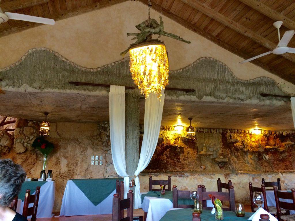 Dining room at Altos de Cano Hondo