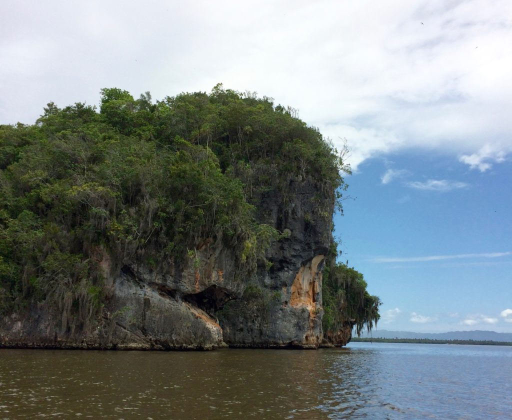 Islet in San Lorenzo Bay