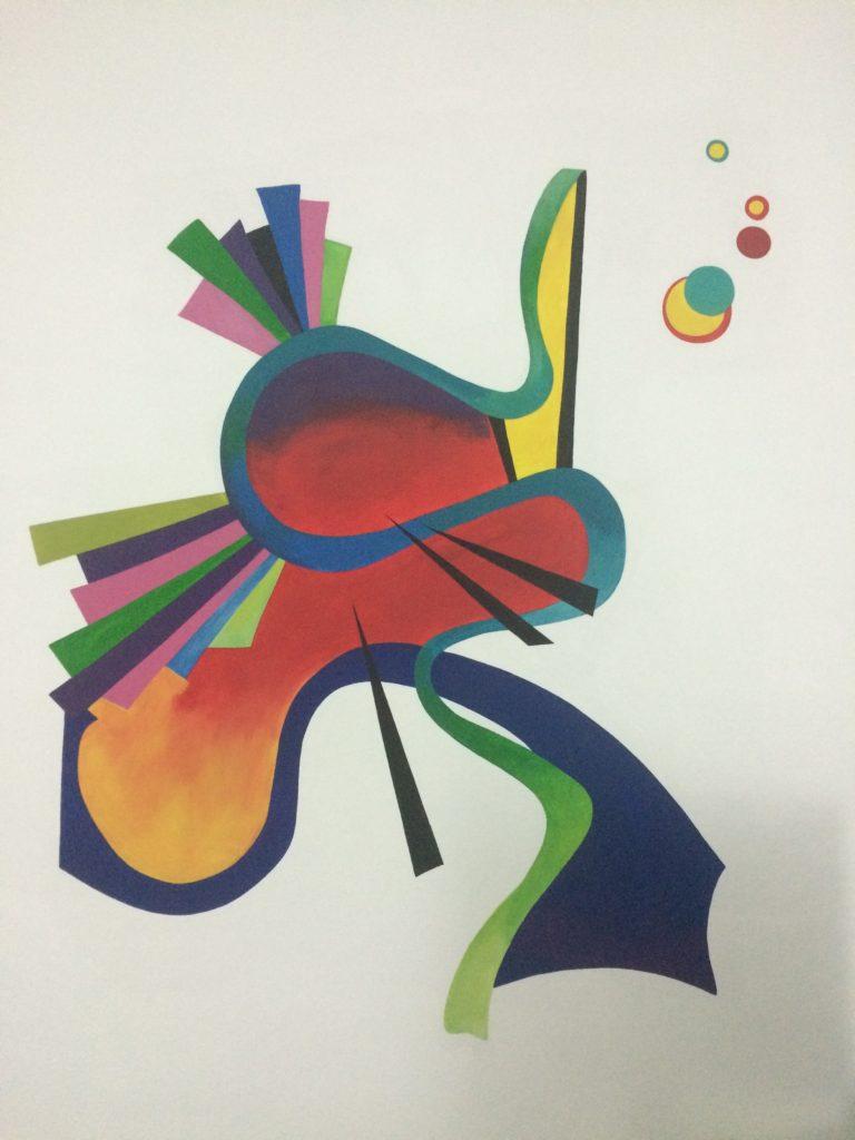 Kandinsky room wall art - Art Villa