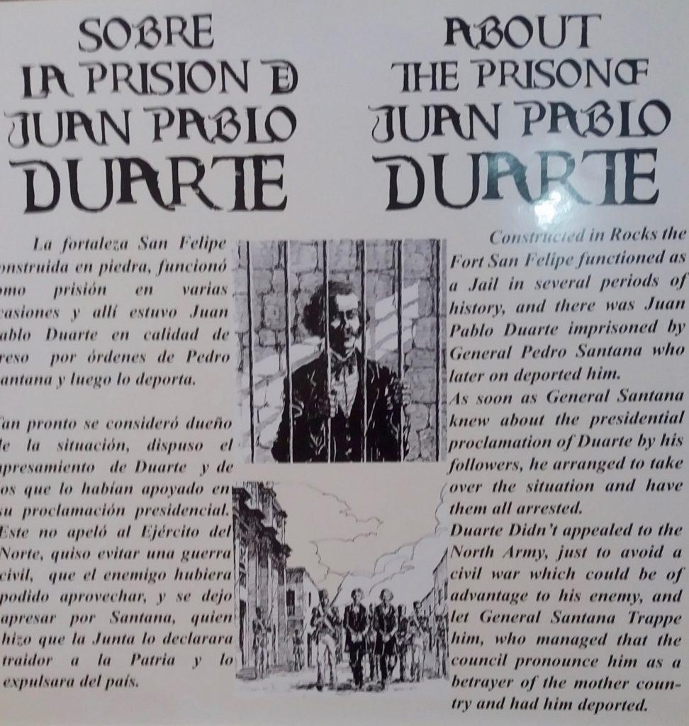 Prison of Juan Pablo Duarte
