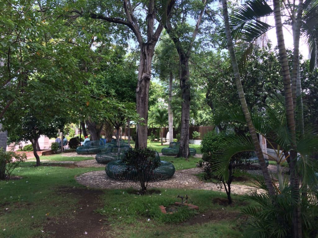 Gardens at Parque Independencia