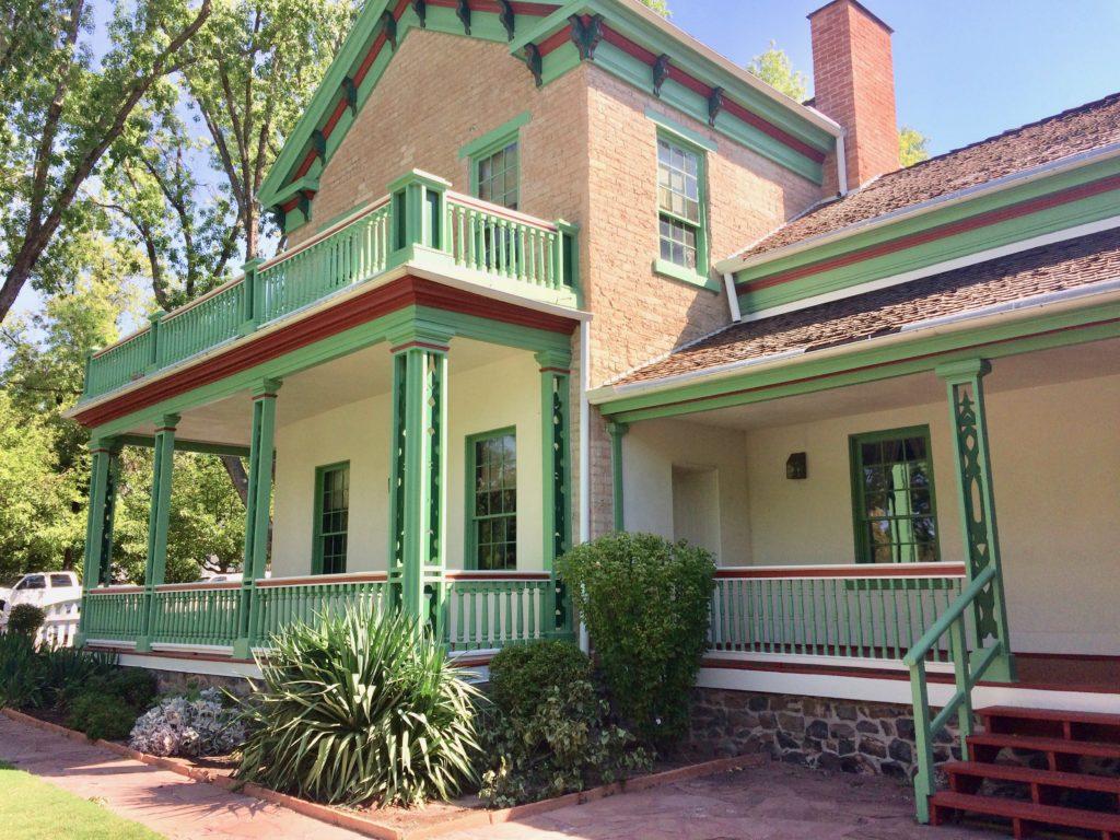 Brigham Young house in St. George, Utah