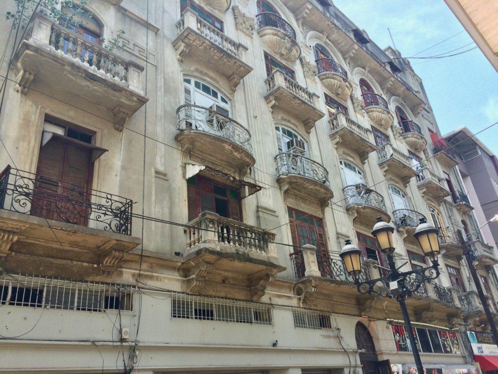 Facade along Conde Street