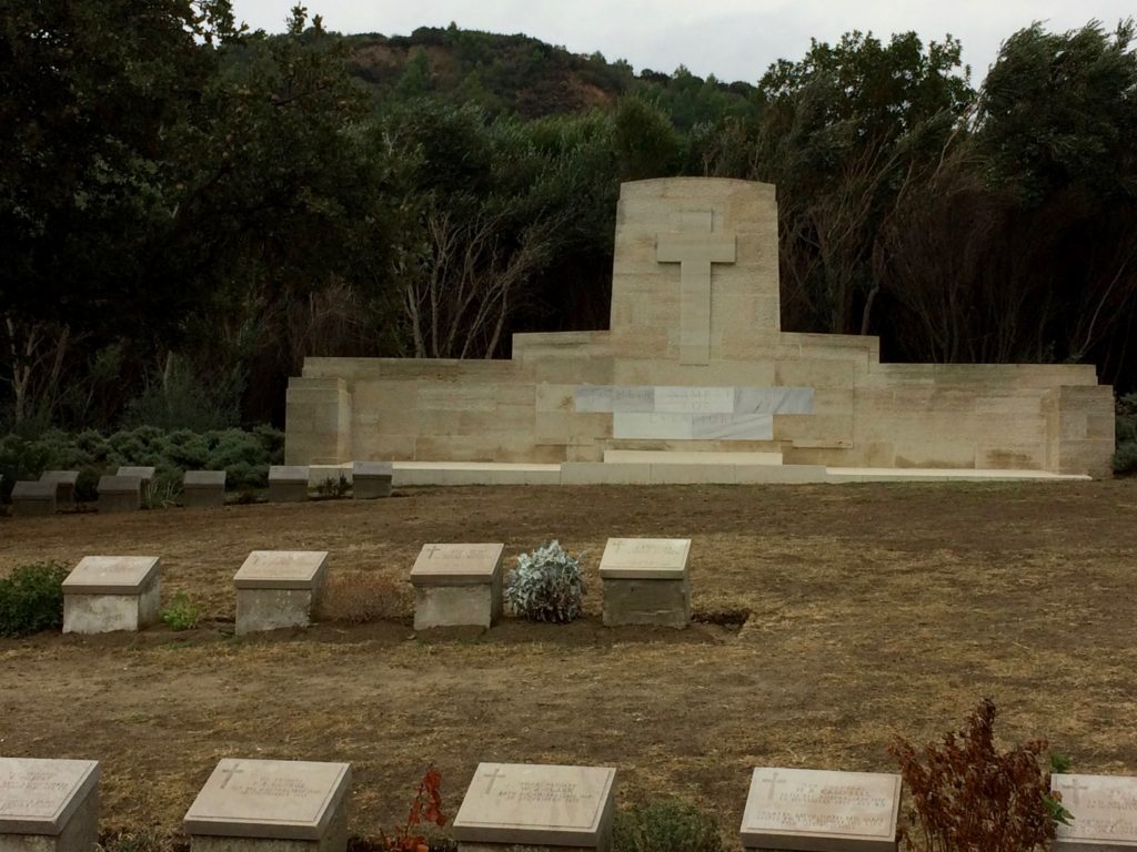 Cemetery at Anzac Cove