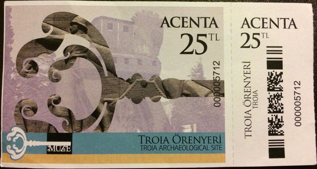 Troy ticket