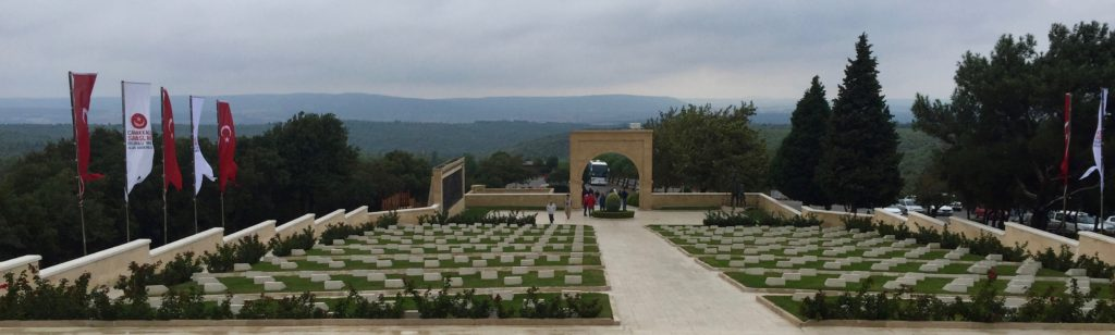 Turkish cemetery at Gallipoli