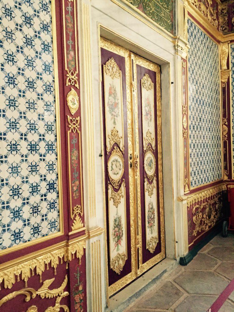 Corridor in Topkapi Palace