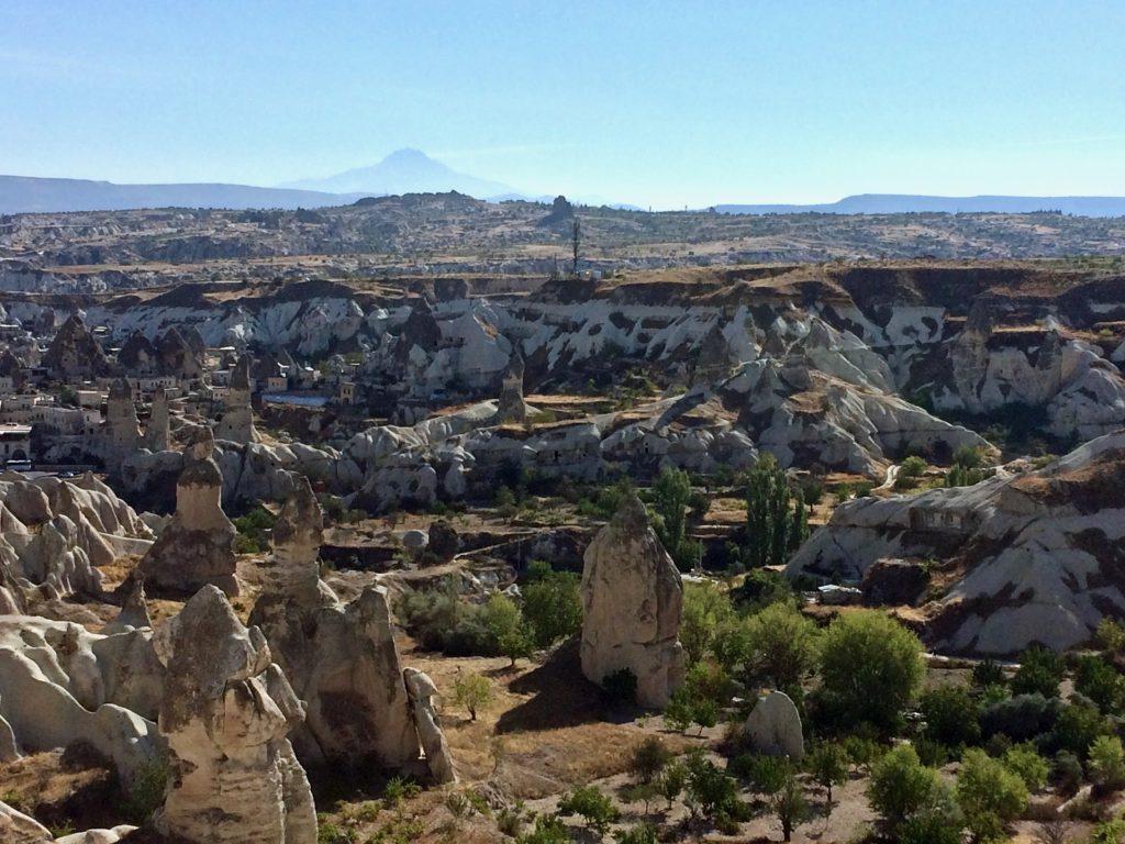 Fairy chimneys & Mt. Hasan