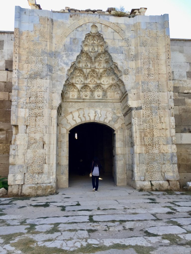 Caravanserai portal Konya