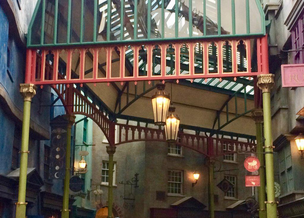 Street-scene at Harry Potter World
