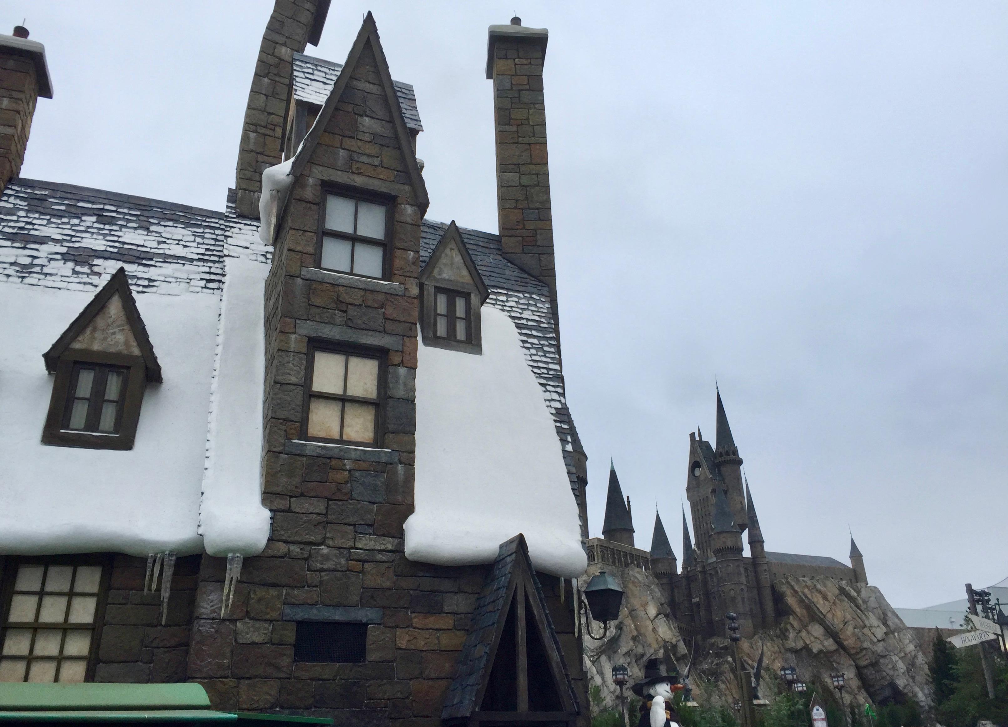 Winter in Harry Potter World