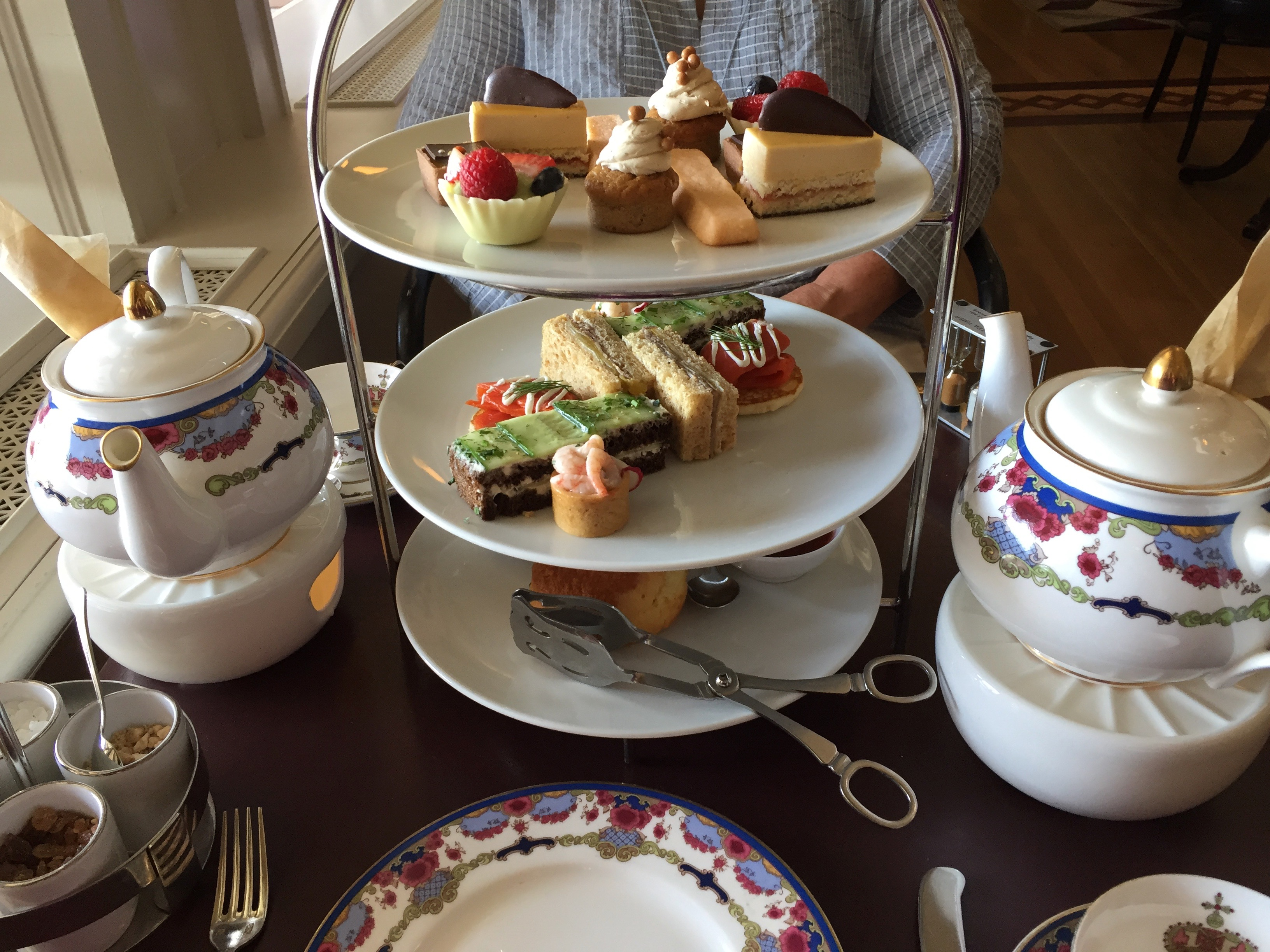 Afternoon tea at the Empress Hotel