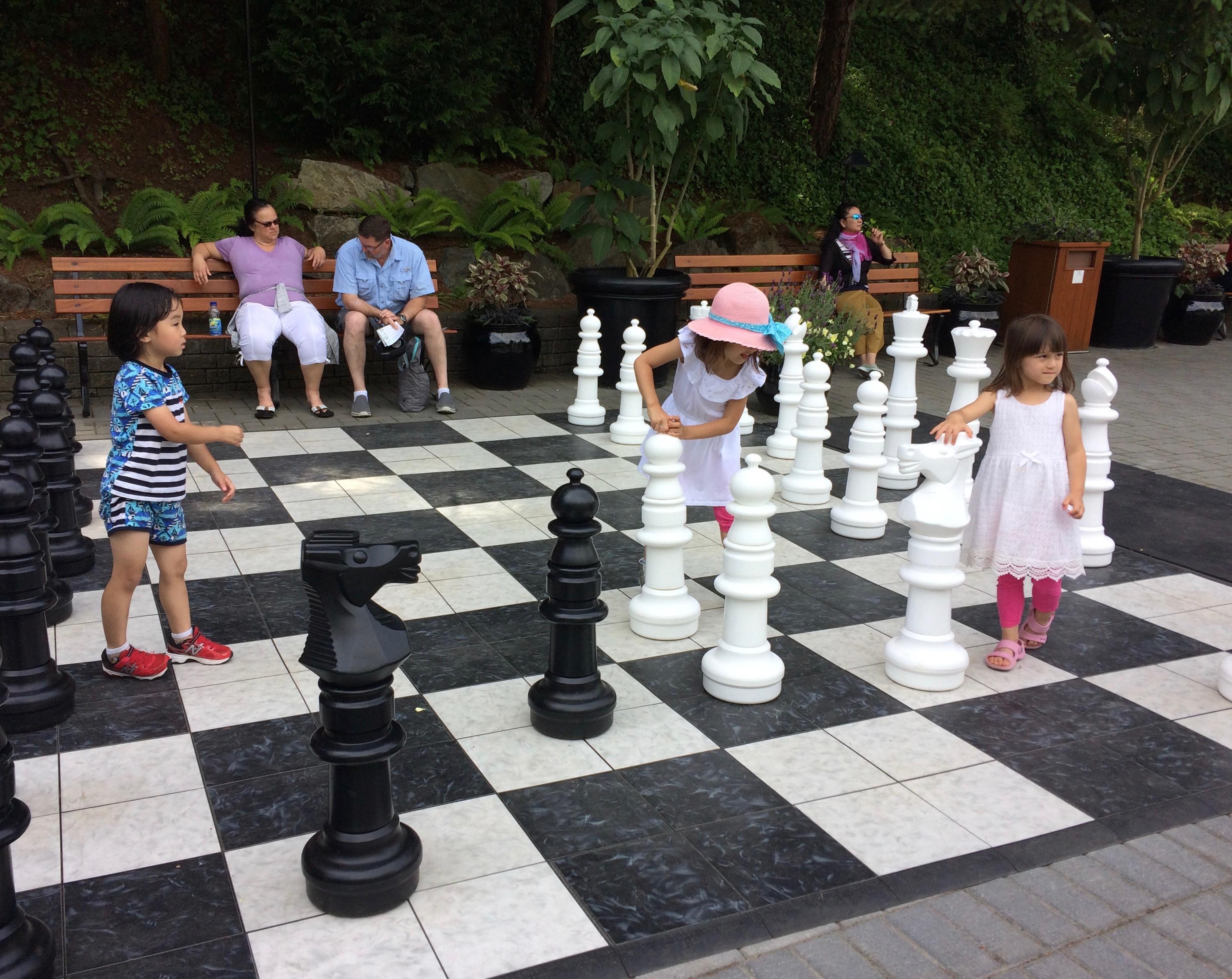 Child-size chess