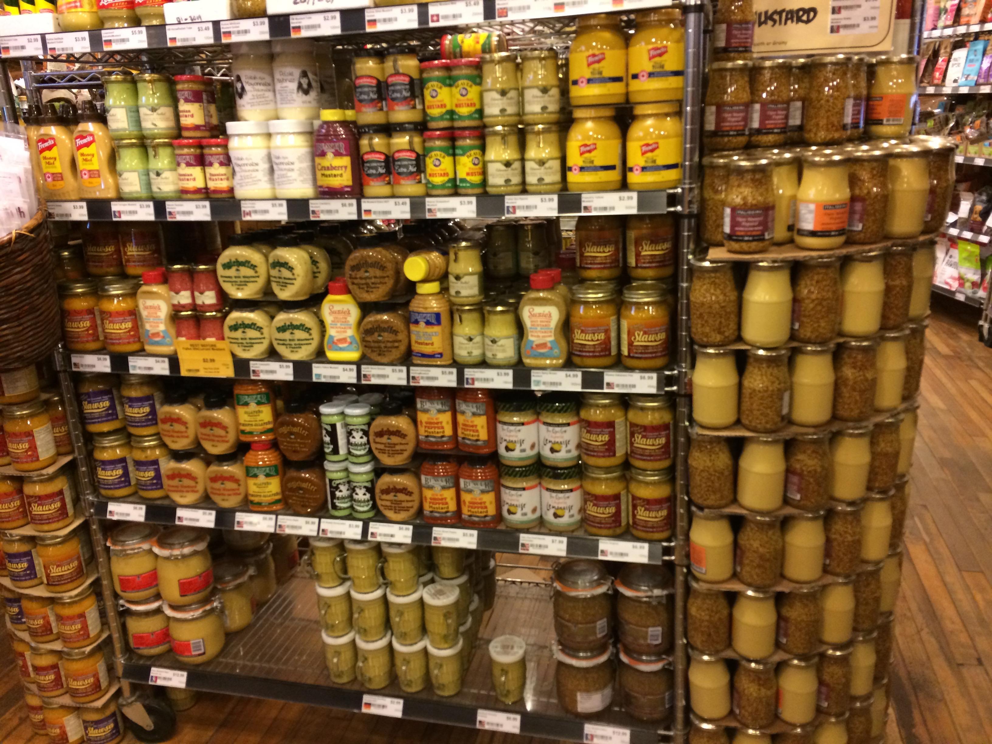 For the mustard afficionado