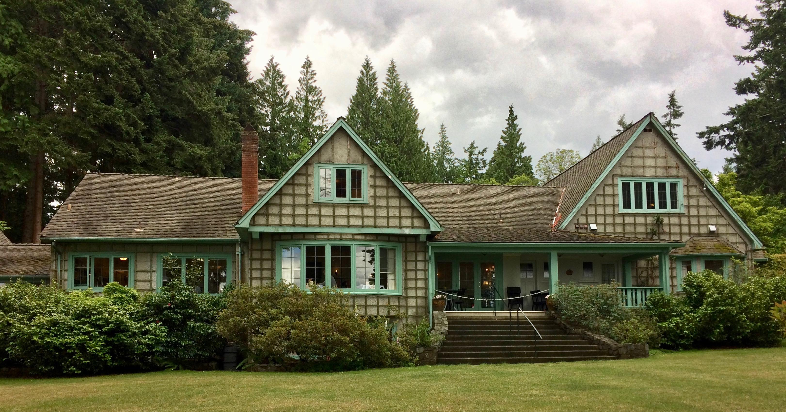 Milner Gardens mansion