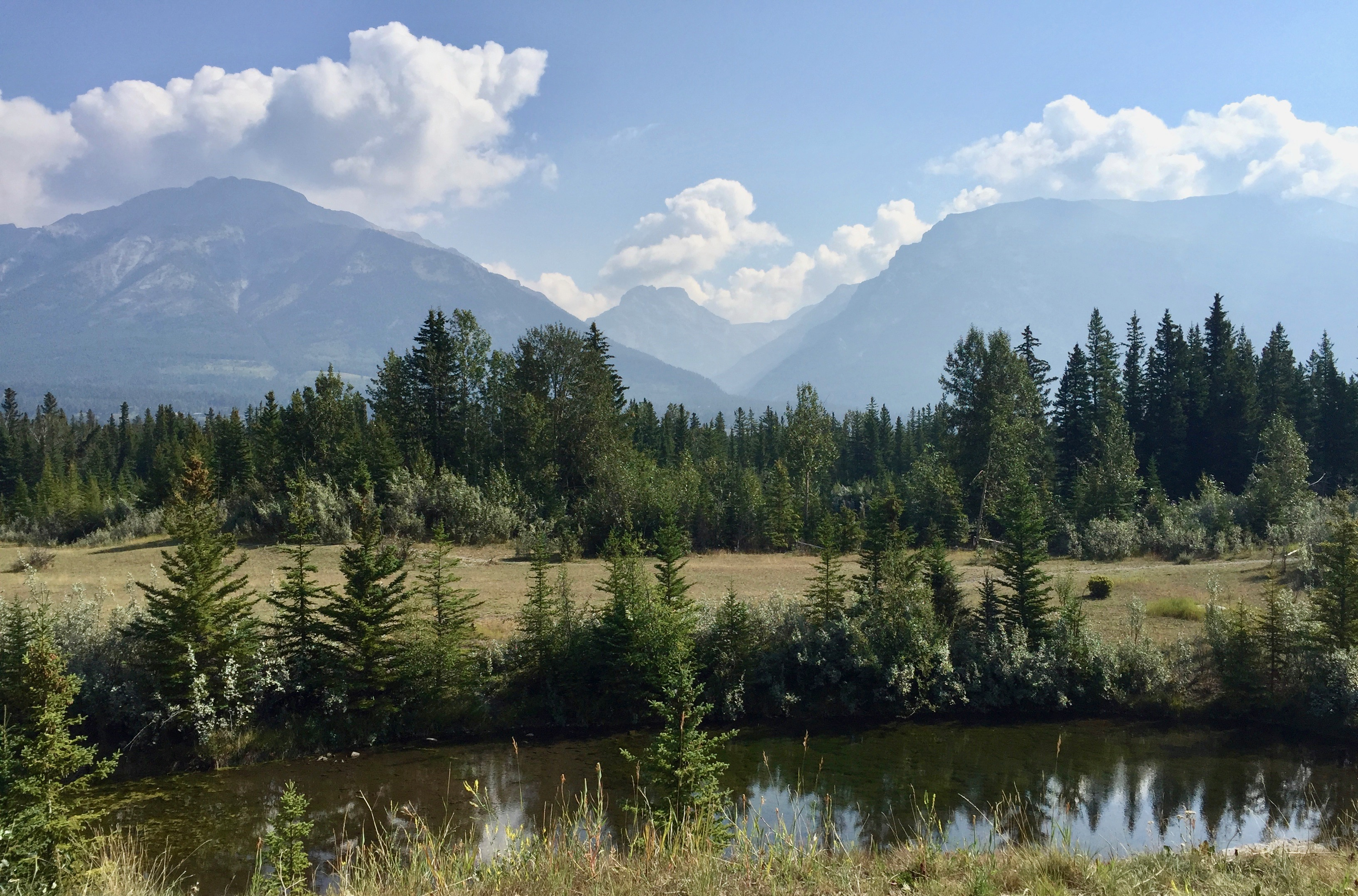 Canmore morning walk