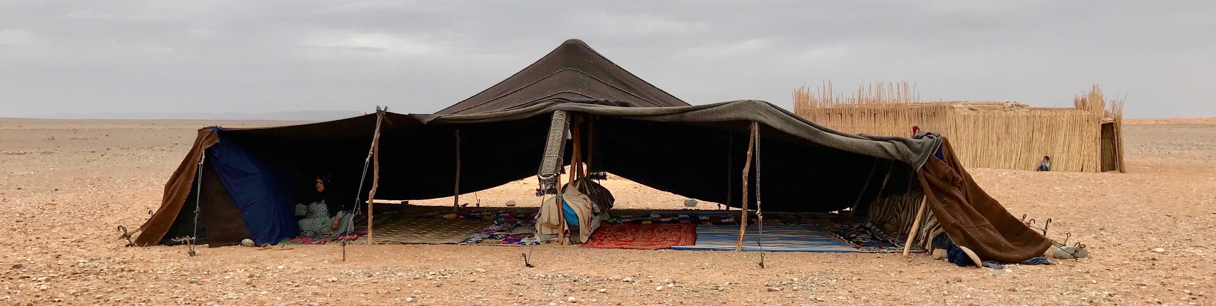 Bedouin woman's tent