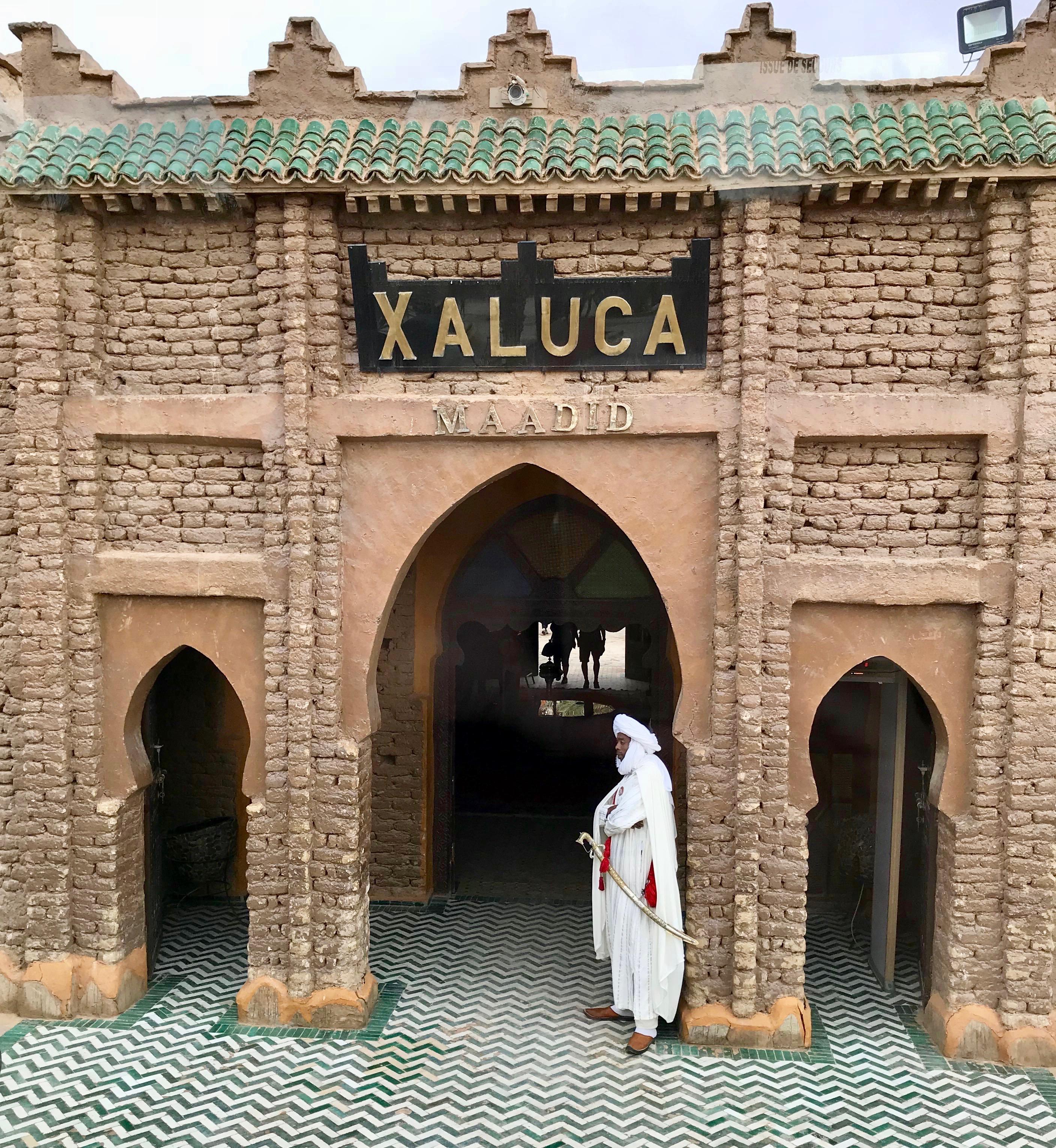 Entry to Xaluca Maadid