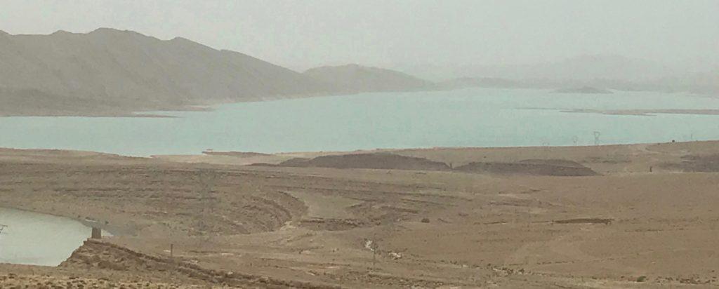 Morocco's biggest dam near Meknes-Tafilalet